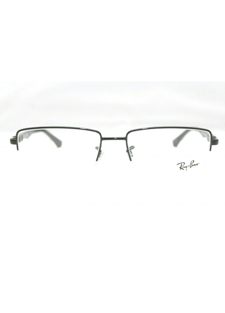 Ray-Ban RX6263 2509 Rectangular Eyeglasses - Black