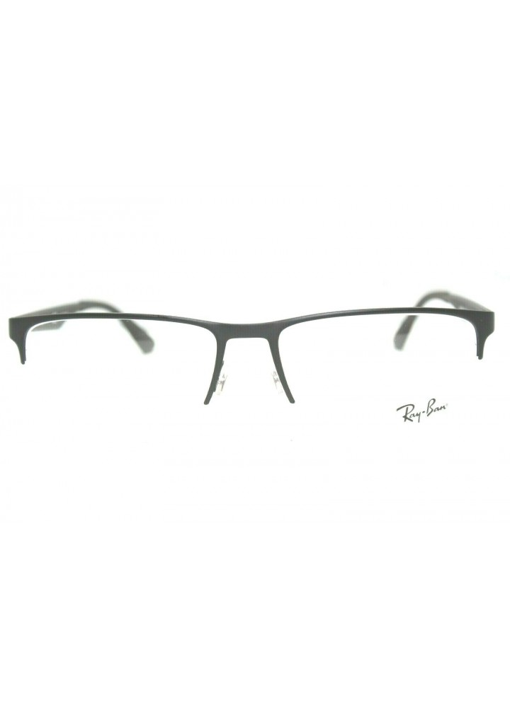 Ray-Ban RX6335 2503 Rectangular Eyeglasses - Black