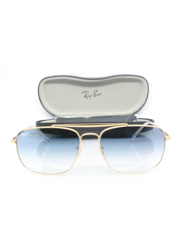 RAY-BAN Sunglasses RB 3560 The Colonel 001/3F - Gold