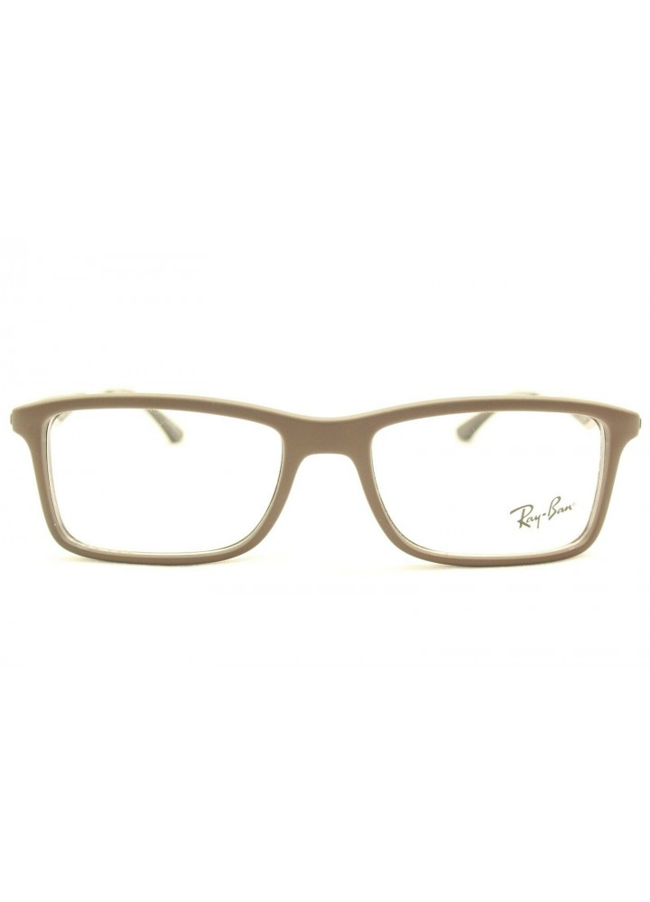 Ray-Ban Eyeglasses RB 7023 5258 - Matte Brown