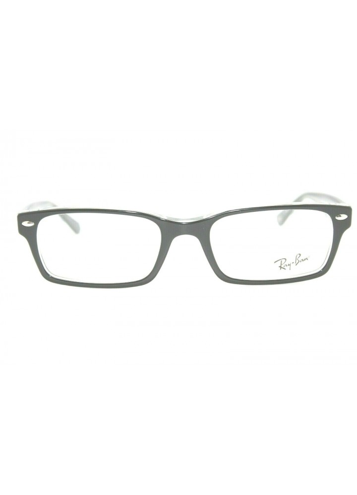 Ray-Ban RB 5206 2034 Rectangular Eyeglasses - Shiny Black