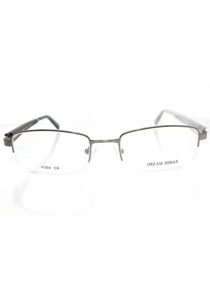 Dream Fever Gunmetal H304 C8 Semi-Rimless