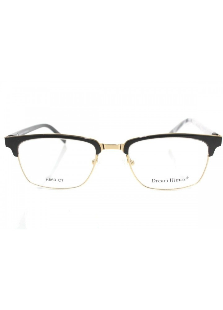 Dream Fever H869 C7 - Black/Gold Semi Rimless