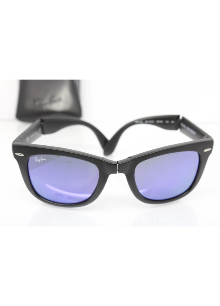 Ray Ban FOLDING WAYFARER RB 4105 601-S/1M 3N - Black